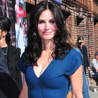 Courteney Cox is seen on April 21, 2014 in New York City