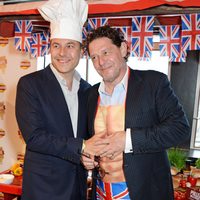 David Walliams and Marco Pierre White