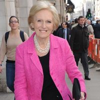 BBC's Great British Bake Off star Mary Berry crowned Queen of baking