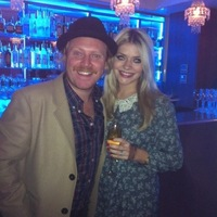 Keith Lemon aka Leigh Francis and Holly Willoughby on Twitter