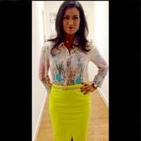 Susanna Reid good morning britain yellow skirt