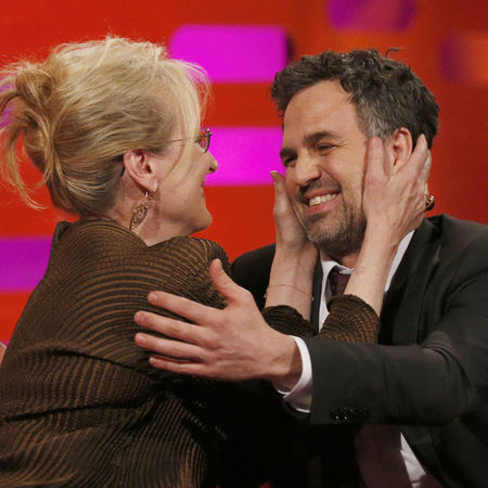Meryl Streep and Mark Ruffalo on The Graham Norton Show