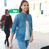 Alesha Dixon arrives at the 2015 Crufts Dog Show in Birmingham