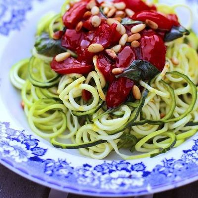 Nadia Sawalha spiraliser recipe courgetti