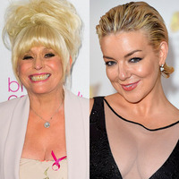 Sheridan Smith / Barbara Windsor composite