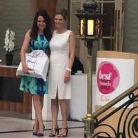Best Beauty Awards - Laura Tobin and Bio Oil representative
