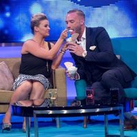Calum Best eats breast milk ice cream on Katie Hopkins' TLC show.